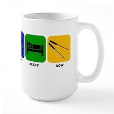Eat Sleep Row Mugs