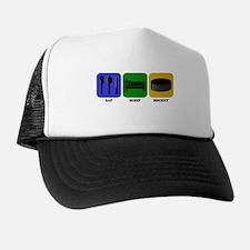 Eat Sleep Hockey Hat
