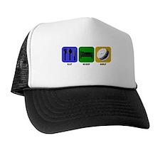 Eat Sleep Golf Hat