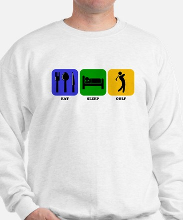 Eat Sleep Golf Jumper