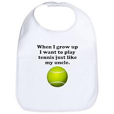 Play Tennis Like My Uncle Bib