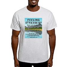 Feeling Stressed Ash Grey T-Shirt