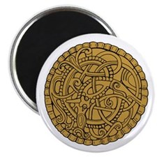 Viking Brooch Magnet