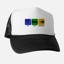 Eat Sleep Snowboard Hat