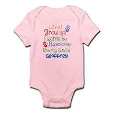 Personalized Awesome Like My Uncle Onesie