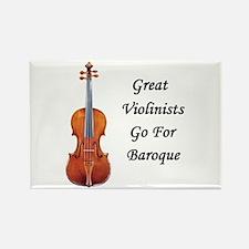 Go for Baroque Rectangle Magnet