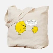 Lemonly Advice Tote Bag