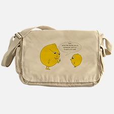 Lemonly Advice Messenger Bag