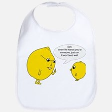 Lemonly Advice Bib