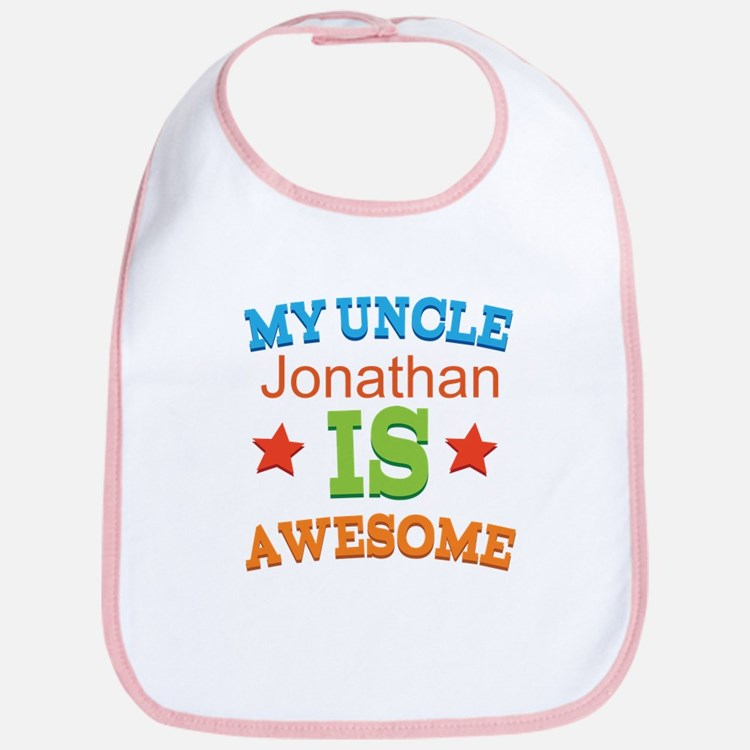 My Uncle Is Awesome Bib