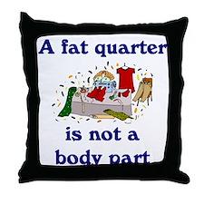 Seamstress Throw Pillow