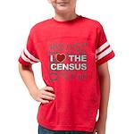 lovecensus4_black Youth Football Shirt