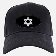 Silver Star of David Baseball Hat
