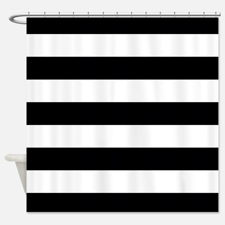 Stripes Shower Curtains Stripes Fabric Shower Curtain Liner