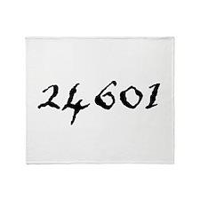 24601 Throw Blanket