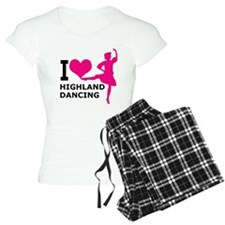I LOVE highland dancing hot Pajamas