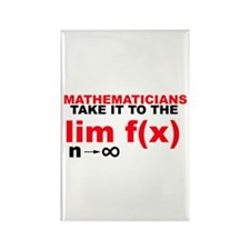 Mathematicians Take It To The Limit! Magnet
