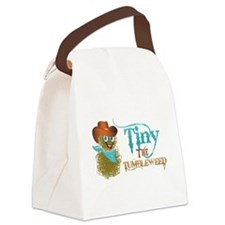 Tiny the Tumbleweed Canvas Lunch Bag