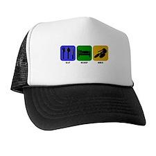 Eat Sleep Bike Hat