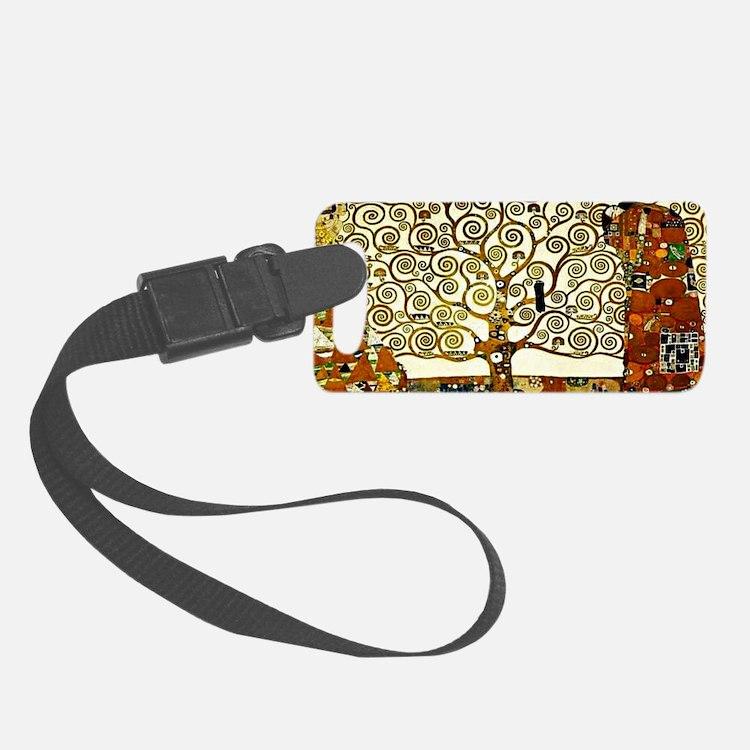 Klimt - The Tree of Life Luggage Tag