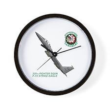 F-15E Stike Eagle Wall Clock
