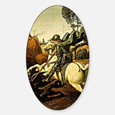 Saint George and the Dragon, painti Decal