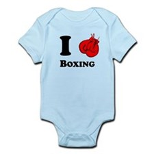 I Heart Boxing Body Suit