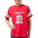 neverdie6_dark Youth Football Shirt