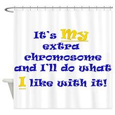 My Extra Chromosome Shower Curtain