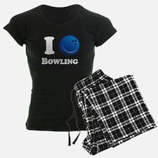 I Heart Bowling pajamas