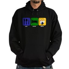 Eat Sleep Bowl Hoody