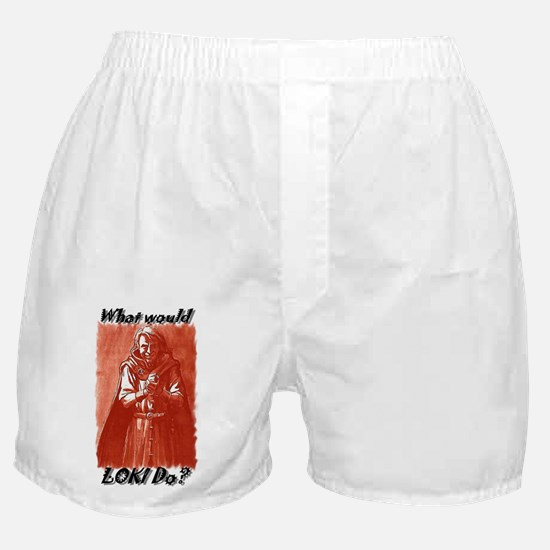 What Would Loki Do? Boxer Shorts