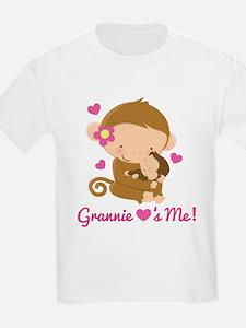 Grannie Loves Me monkey T-Shirt