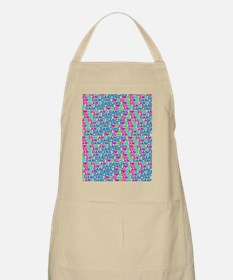 I LOVE highland dancing print Apron