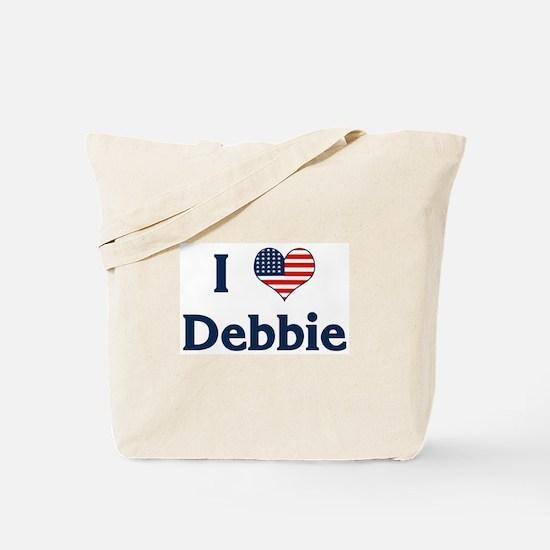 I Love Debbie Tote Bag