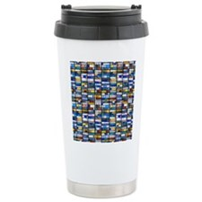 Stained Glass Window Travel Mug