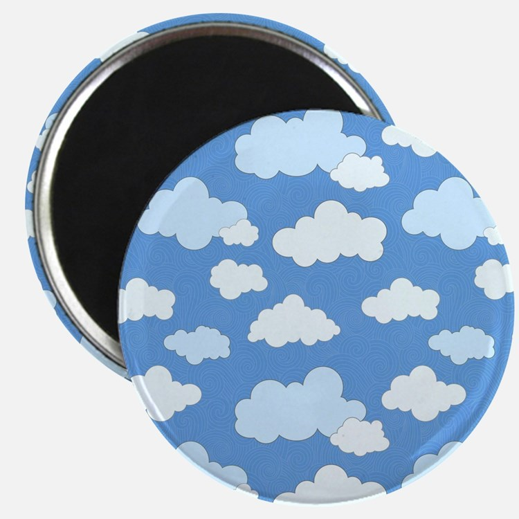 Swirling Clouds 2.25 Magnet (100 pack)