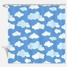 Swirling Clouds Shower Curtain