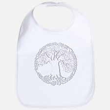Celtic Tree of Life Baby Bib