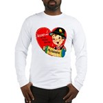 Accordian Valentine Long Sleeve T-Shirt