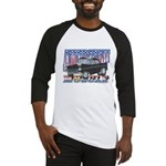 Vintage 1955 Chevy Muscle Car Baseball Jersey