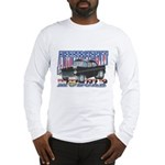 Vintage 1955 Chevy Muscle Car Long Sleeve T-Shirt