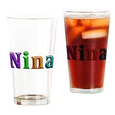 Nina Shiny Colors Drinking Glass