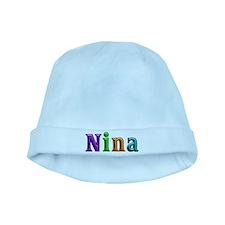 Nina Shiny Colors baby hat