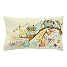 Autumn Owl Pillow Case