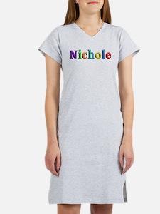 Nichole Shiny Colors Women's Nightshirt
