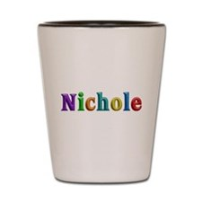 Nichole Shiny Colors Shot Glass