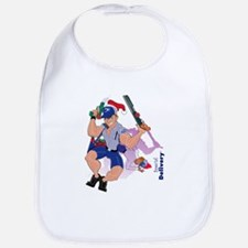 Special Christmas Delivery Bib