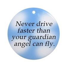 Blessing for Drivers Automobile Ornament