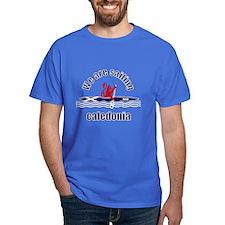 Scotland Caledonia Canoe T-Shirt